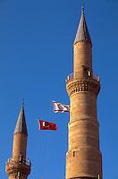 Selimiye-Moschee in Nicosia (Lefkosa), erbaut als Sophienkirche 1209, Nordzypern