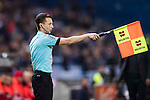 Assistant Referee Pau Cebrian Devis in action during their Copa del Rey 2016-17 Round of 16 match between Atletico de Madrid and UD Las Palmas at the Vicente Calderón Stadium on 10 January 2017 in Madrid, Spain. Photo by Diego Gonzalez Souto / Power Sport Images