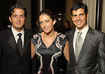 Carlos Zedillo, Alondra DeLaparra and Pablo Sainz Villegas at the Houston Symphony's opening night gala dinner at The Corinthian Saturday Sept. 12, 2009. (Dave Rossman/For the Chronicle)