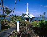 St. Peter's Catholic Church , Kahaluu, on the Big Island, Hawaii