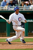 Brad Snyder - Chicago Cubs - 2009 spring training.Photo by:  Bill Mitchell/Four Seam Images