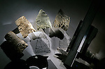 Peopling of the Americas, Cactus Hill, VA, 17,000 BP, stone tools, Joe McAvoy, Lynn McAvoy.