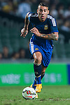 Nicolas Otamendi of Argentina in action during the HKFA Centennial Celebration Match between Hong Kong vs Argentina at the Hong Kong Stadium on 14th October 2014 in Hong Kong, China. Photo by Aitor Alcalde / Power Sport Images