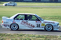 Final round of the 1991 British Touring Car Championship. #59 Ian Flux (GBR). BRR Motorsport. BMW M3.