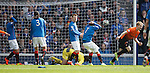 Gary Mackay-Steven scores the second goal for Dundee Utd as Rangers are gutted