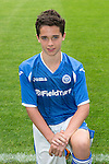 St Johnstone FC Academy Under 15's<br /> Oliver Hamilton<br /> Picture by Graeme Hart.<br /> Copyright Perthshire Picture Agency<br /> Tel: 01738 623350  Mobile: 07990 594431