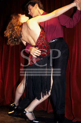 Buenos Aires, Argentina. Couple dancing the Tango.