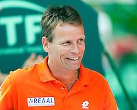 8-3-09,Argentina, Buenos Aires, Daviscup  Argentina-Netherlands,  Captain Jan Siemerink