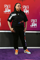 LOS ANGELES - JUL 12:  Raven-Symone at the Space Jam:  A New Legacy Premiere at the Microsoft Theater on July 12, 2021 in Los Angeles, CA