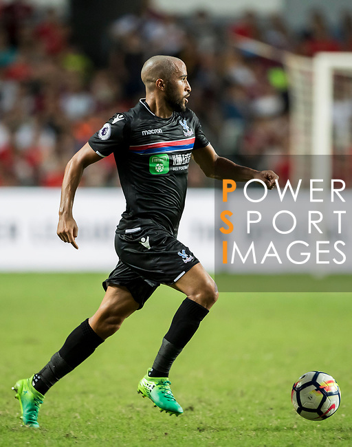 Crystal Palace midfielder Andros Townsend in action during the Premier League Asia Trophy match between West Bromwich Albion and Crystal Palace at Hong Kong Stadium on 22 July 2017, in Hong Kong, China. Photo by Weixiang Lim / Power Sport Images
