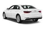 Car pictures of rear three quarter view of a 2019 Audi A4 Premium 4 Door Sedan angular rear