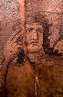 Greek Art:  Roman Mosaic--Achilles, detail.  Getty Museum, Malibu.