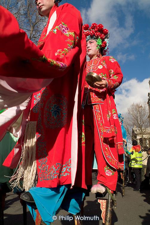 Chinese New Year celebrations, Chinatown, London.