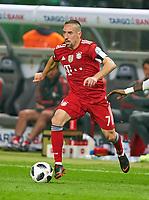 Franck RIBERY, FCB 7 <br /> Football DFB Pokal Finale , Berlin,19.05.2018<br /> FC BAYERN MUENCHEN - EINTRACHT FRANKFURT 1-3<br /> 1718 ,  2017 / 2018, DFB-Pokal<br />  <br />  *** Local Caption *** © pixathlon
