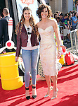 Teri Hatcher and Emerson Hatcher at Disney's World Premiere of Planes held at the El Capitan Theatre in Hollywood, California on August 05,2013                                                                   Copyright 2013 Hollywood Press Agency