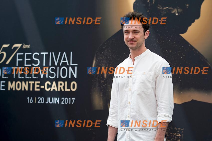 George Blagden (Versailles) Monaco - 17/06/2017<br /> 57 festival TV Monte Carlo <br /> Foto Norbert Scanella / Panoramic / Insidefoto