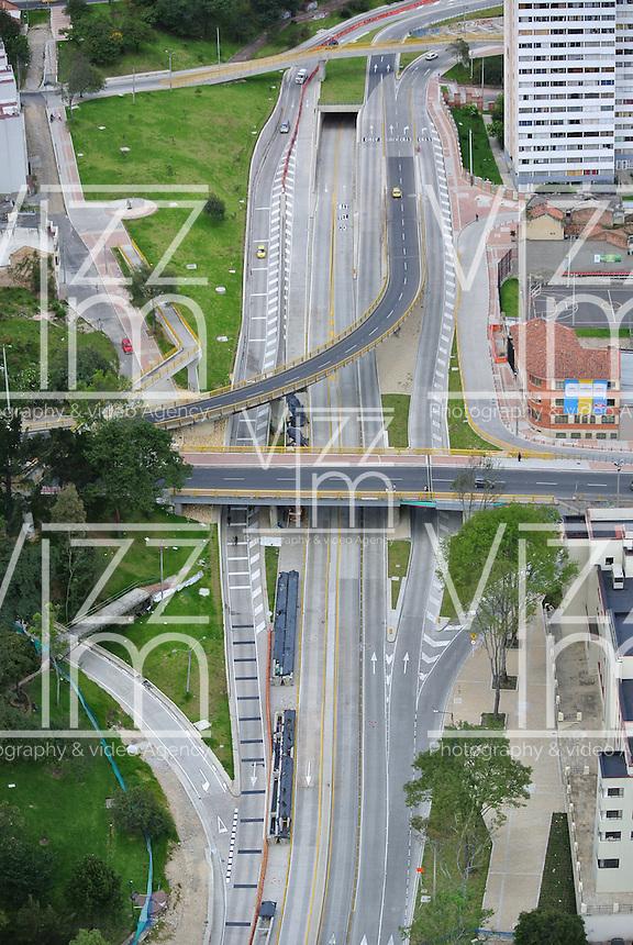 BOGOTÁ -COLOMBIA. Aspecto de la Avenida El Dorado en el centro de la ciudad de Bogotá, Colombia./ Aspect of El Dorado Avenue in downtown Bogota, Colombia. Photo: VizzorImage/ Str