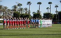 USWNT U-17 vs Japan, Nike Friendlies 2016, February 15, 2016