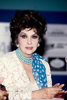 FILE PHOTO -  l'actrice Gina Lollobrigida vers 1996<br /> <br /> PHOTO :   Agence quebec Presse