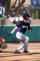 Colorado Rockies Vince Fernandez (36) during an Instructional League game against the Arizona Diamondbacks on October 7, 2016 at Salt River Fields at Talking Stick in Scottsdale, Arizona.  (Mike Janes/Four Seam Images)