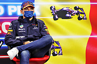 26th August 2021; Spa Francorchamps, Stavelot, Belgium: FIA F1 Grand Prix of Belgium, driver arrival day:  33 Max Verstappen NED, Red Bull Racing