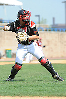 University of Louisville Cardinals catcher Will Smith (30) during practice before a game against the Temple University Owls at Campbell's Field on May 10, 2014 in Camden, New Jersey. Temple defeated Louisville 4-2.  (Tomasso DeRosa/ Four Seam Images)
