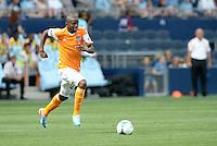 .Sporting Kansas City and Houston Dynamo played to a 1-1 tie at Sporting Park, Kansas City, Kansas.