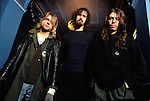 Various portraits & live photographs of the rock band, .Nirvana