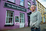 Kevin Leahy at the Black Sheep hostel in Killarney.
