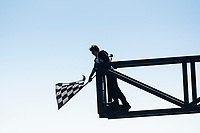 The Chequered flag during the 5 Nations BRX Championship at Lydden Hill Race Circuit on 31st May 2021