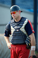 Cedar Rapids Kernels catcher Matthew Scioscia #23 during practice before a game against the Quad Cities River Bandits at Modern Woodmen Park on June 30, 2012 in Davenport, Illinois.  Quad Cities defeated Davenport 8-7.  (Mike Janes/Four Seam Images)