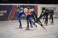 SPEEDSKATING: DORDRECHT: 06-03-2021, ISU World Short Track Speedskating Championships, SF 3000m Relay, Yara van Kerkhof (NED), (ITA), ©photo Martin de Jong