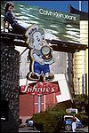 Calvin Klein/ Johnie's Fat Boy, Wilshire Blvd., 1978