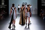 02.09.2012. Models walk the runway in the Maria Barros fashion show during the Mercedes-Benz Fashion Week Madrid Spring/Summer 2013 at Ifema. (Alterphotos/Marta Gonzalez)