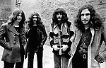 Black Sabbath 1970 Ozzy Osbourne Bill Ward Geezer Butler and Tony Iommi<br /> © Chris Walter