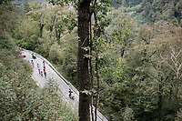 the breakaway group<br /> <br /> 115th Il Lombardia 2021 (1.UWT)<br /> One day race from Como to Bergamo (ITA/239km)<br /> <br /> ©kramon