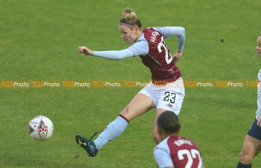 Nadine Hanssen of Aston Villa shot goes wide during Tottenham Hotspur Women vs Aston Villa Women, Barclays FA Women's Super League Football at the Hive Stadium on 13th December 2020