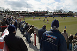 Accrington Stanley 1 Scarborough 0, 17/04/2006. Crown Ground, Football Conference. The view from the away end at Accrington. Photo by Paul Thompson.