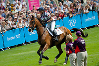GBR-Mary King (IMPERIAL CAVALIER) 2012 LONDON OLYMPICS (Monday 30 July 2012) EVENTING CROSS COUNTRY: INTERIM-6TH
