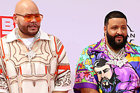 LOS ANGELES - JUN 27:  Fat Joe, DJ Khaled at the BET Awards 2021 Arrivals at the Microsoft Theater on June 27, 2021 in Los Angeles, CA