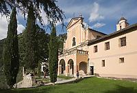Europe/France/Provence-Alpes-Côtes d'Azur/06/Alpes-Maritimes/Alpes-Maritimes/Arrière Pays Niçois/Saorge: le Couvent des Franciscains