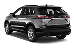 Car pictures of rear three quarter view of 2020 Ford Edge SE 5 Door SUV Angular Rear