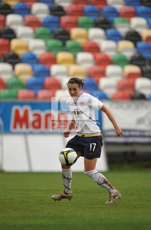 Meghan Schnur at the 2010 Algarve Cup