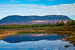 Big Spencer Mountain over Lazy Tom Stream in Piscataquis County, ME, USA