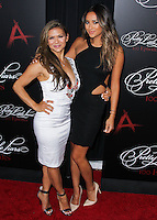 HOLLYWOOD, LOS ANGELES, CA, USA - MAY 31: Nia Peeples, Shay Mitchell at the 'Pretty Little Liars' 100th Episode Celebration held at W Hotel Hollywood on May 31, 2014 in Hollywood, Los Angeles, California, United States. (Photo by Xavier Collin/Celebrity Monitor)