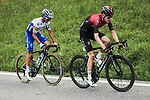 Pavel Sivakov (RUS) Team Ineos and Julian Alaphilippe (FRA) Deceuninck-Quick Step out front during Stage 5 of Criterium du Dauphine 2020, running 153.5km from Megeve to Megeve, France. 16th August 2020.<br /> Picture: ASO/Alex Broadway | Cyclefile<br /> All photos usage must carry mandatory copyright credit (© Cyclefile | ASO/Alex Broadway)