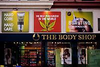 San Francisco, California.  Advertisements Promote Body Moisturizers Using Cannabis (Marijuana, or Indian Hemp Plant).