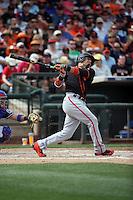 Ramiro Pena - San Francisco Giants 2016 spring training (Bill Mitchell)