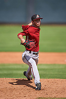 Arizona Diamondbacks pitcher Cameron Smith (11) during an instructional league game against the Texas Rangers on October 10, 2015 at the Salt River Fields at Talking Stick in Scottsdale, Arizona.  (Mike Janes/Four Seam Images)