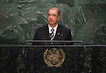 Address by His Excellency James Alix Michel, President of the Republic of Seychelles